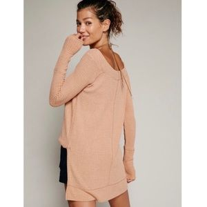 We the Free Kate nude/ tan tunic size L